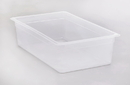 Cambro 1 Inch X 1 Inch X 6 Inch Polypropylene Translucent Food Pan 6 Per Pack - 1 Per Case