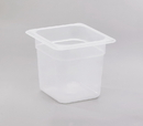 Cambro 1 Inch X 6 Inch X 6 Inch Sixth Size Polypropylene Translucent Food Pan 6 Per Pack - 1 Per Case