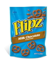 Flipz 014 Pretzels Chocolate Covered Stand Up Pouch 8-7.5 Ounce