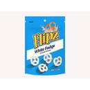 Flipz 8/7.5Oz White Fudge Covered Pretzels In A Stand Up Pouch - Case