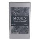 Monin Granny Smith Apple Puree 1 Liter Bottle - 4 Per Case