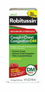 Robitussin Dm Max Cough & Chest Congestion 8-3-4 Fluid Ounce