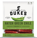 Duke'S Shorty Hatch Green Chilies Smoked Sausage 5 Ounces - 8 Per Case