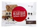 Corazonas Non Gmo Heartbar Chocolate Chip Oatmeal Square 1.76 Ounces Per Bar - 6 Per Pack - 12 Per Case