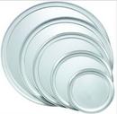 Winco APZT-12 12 Inch Wide Rim Pizza Tray Aluminum 1-1 Each