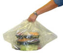 Pak-Sher 5068 Plastic Bag Catering Clear 18X7X24 1-50 Each