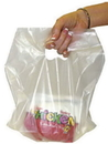 Pak-Sher 5885 Bag Colored Tab White With Handle 1-1000 Each