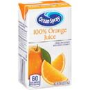 Ocean Spray 100% Orange Juice 4.2 Fluid Ounce Boxes - 40 Per Case