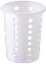 Winco Flateware Plastic Cylinder Holder 1 Per Pack