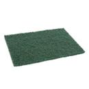 Royal Medium Duty Green Scouring Pad 20 Per Pack - 1 Per Case