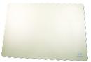 Royal WSS914 Stirling White Scalloped Placemat 9-1/2 X 13-1/2 Pkd1000
