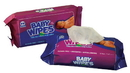 Royal Unscented Refill Baby Wipe 80 Per Pack - 12 Per Case