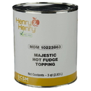 Henry & Henry Majestic Hot Fudge Topping 45.4 Pounds - 1 Per Case