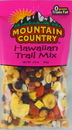 Mountain Country Hawaiian Trail Mix 6.75 Ounce - 6 Per Case