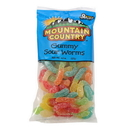 Mountain Country Sour Gummy Worm 8 Ounce - 6 Per Case