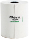 Value Essentials Register Roll 3.13 Inch 1-Ply 200 Foot Thermal White Paper 3 Rolls Per Pack - 10 Packs Per Case