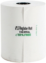 Value Essentials Register Roll 3.13 Inch 1-Ply 230 Foot Thermal White Paper - 50 Rolls Per Case