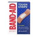 Band-Aid Tough Strips 5X Stronger Bandage 20 Per Pack - 5 Per Box - 4 Per Case