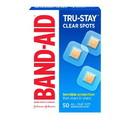 Band-Aid Tru-Stay Clear Spots Bandage 50 Per Pack - 5 Per Box - 4 Per Case