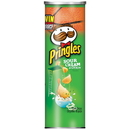 Pringles Sour Cream & Onion Potato Crisp 5.5 Ounces Per Pack - 14 Per Case
