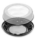 D & W Fine Pack 10 Inch Hi-Dome Display Pie Container 160 Per Pack - 1 Per Case