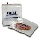 Pak-Sher 10 Inch X 8 Inch Plastic Deli Bag 1000 Per Pack - 1 Per Case