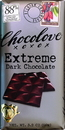 Chocolove Extreme Dark Chocolate Bar 3.2 Ounce Bar - 12 Per Pack - 12 Per Case
