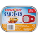 Chicken Of The Sea 00048000187086 Chicken Of The Sea Sardines In Mustard 18/3.75 Ounce