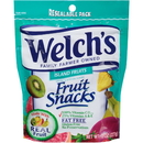 Welch'S Island Fruit Resealable Fruit Snack 8 Ounce Peg Bag - 9 Per Case