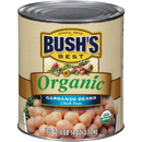 Bush'S Best 100% Organic Garbanzo Beans #10 Can - 6 Per Case