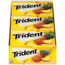 Trident Pineapple Twist Sugar Free Gum 14 Sticks Per Pack - 12 Packs Per Box - 12 Boxes Per Case