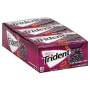 Trident 01171 Trident Gum Black Raspberry Twist Sugar Free12X14 Pc