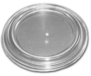 D & W Fine Pack 4/5 Ounce Flat Stackable Vented Lid 1000 Per Pack - 1 Per Case