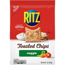 Ritz 05109 Wheat Thins Toasted Vegetable Chips 6-8.1 Ounce