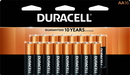 Duracell Alkaline Primary Major Cells Aa