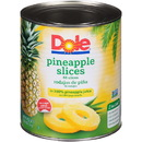 Dole In 100% Juice Slice Pineapple #10 Can - 6 Per Case