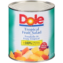 Dole In 100% Juice Tropical Fruit Salad #10 Can - 6 Per Case