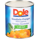 Dole Mandarin Orange In Light Syrup 100 Ounce Can - 6 Per Case