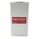 Monin Peach Concentrate Flavor 375 Milliliter Bottle - 4 Per Case