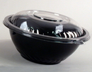 Wna-Caterline 12 160 Ounce Pack N' Serve Black Bowl 25 Count