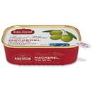 King Oscar Royal Fillet Skinless/Boneless Mackerel In Olive Oil 12/4.05 Ounce