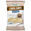 Simply 7 Kosher Sea Salt Lentil Chips 4 Ounce Bag - 6 Per Case
