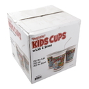 Amerchoice KCT250IT Kids' Cup Imagination Theme 12 oz Cup/Straw/Lid Combo 250 Of Ea: Cups Lids Straws
