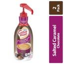 Coffee-Mate Salted Caramel Chocolate Pump Concentrate Liquid Creamer 50.7 Ounces Per Bottle - 2 Per Case