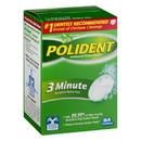 Polident 3 Minute Regular Cleanser 84 Tablets Per Pack - 6 Per Case