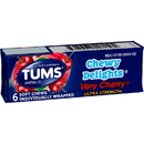 Tums Very Cherry Chewy Delights 6 Per Box 12 Ct - 12 Per Case