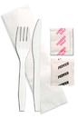 Meal Kit Knife Fork Napkin Salt &Pepper 500-500 Each