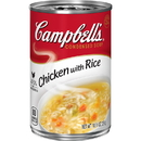 Campbell'S Condensed Soup Red & White Chicken And Rice 10.5 Ounce Can 12 Per Case