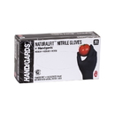 Handgards Naturalfit Nitrile Powder Free Black Medium Glove 100 Per Pack - 10 Per Case