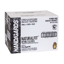 Handgards Naturalfit Nitrile Powder Free Black Small Glove 100 Per Pack - 10 Per Case